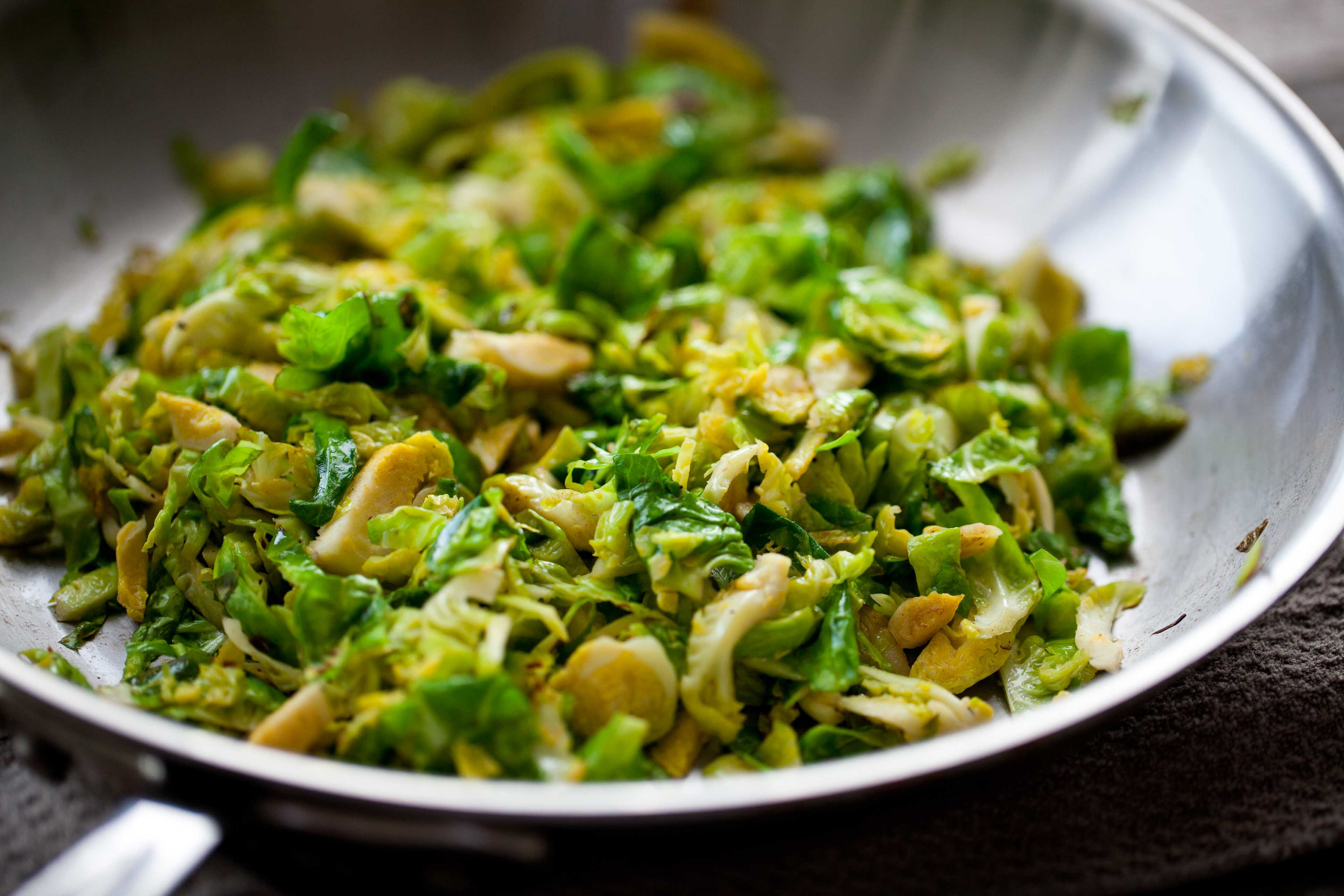 Shredded Brussel Sprout Recipe